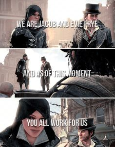 Jacob and Evie