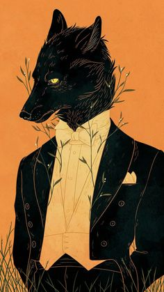 What if the fox is only a gentleman. Why do we judge them as to be sly and wicked? What if he only looks like that.