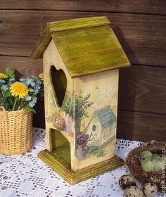 """Купить Чайный домик """"Чай с мечтами о весне... """" - разноцветный, чайный домик…"""