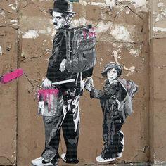 World Graffiti Urban Art : Vol 36 // Mr Pilgrim Street Artist