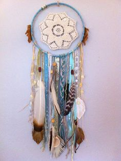 #dreamcatcher by rachael rice, via Flickr  I will make one for you, too: http://rachaelrice.com/art/custom-orders/