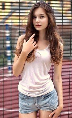 Anastasia Cebulska - b 1995 in Belarus. Beautiful Girl Photo, Beautiful Asian Girls, Beautiful Models, Most Beautiful Women, Beautiful Celebrities, Beautiful Eyes, Beauty Full Girl, Beauty Women, Girly Girl Outfits