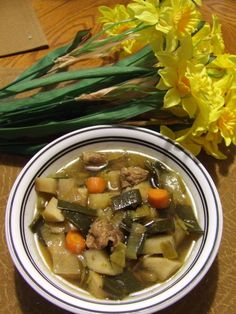 Cawl Cymreig (Welsh Soup) for St. David's Day