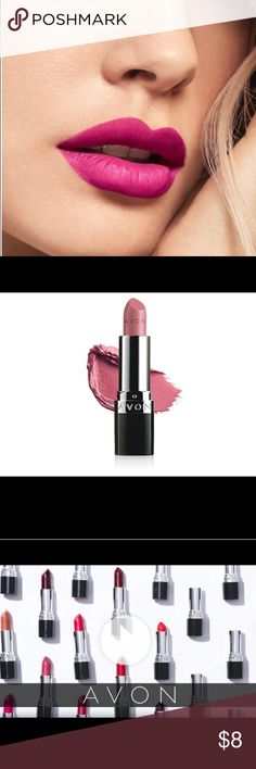 Avon True Color Nourishing Lipstick. Peony Blush Introducing Avon True Color Nourishing Lipstick...Full coverage, lasting color and conditioning care in one nourishing lipstick. Infused with jojoba oil, vitamin E, collagen and lanolin. Keeps lips feeling conditioned & moisturized even after you take it off! Color,  Peony Blush Avon Makeup Lipstick
