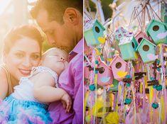 Βαπτιση κοριτσιου με ροζ και κιτρινα χρωματα - EverAfter