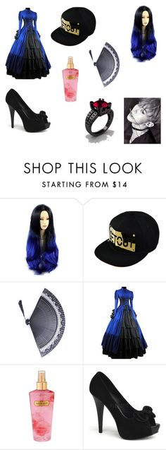 """""""An outfit Bts makes me wear for GD"""" by silveria-phantomhive on Polyvore featuring Victoria's Secret, Pinup Couture and Modern Vintage"""