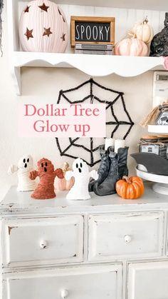 Halloween Cloche, Chic Halloween Decor, Halloween Arts And Crafts, Pink Halloween, Halloween Activities For Kids, Diy Halloween Decorations, Halloween Stuff, Halloween Halloween, Holidays Halloween