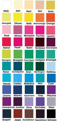 List of colors | Craft Ideas | Pinterest | Colour list ...