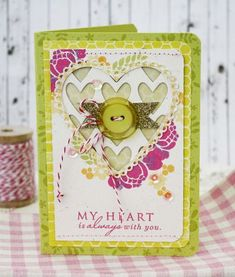 Valentine - Green! Love it. Melissa Phillips