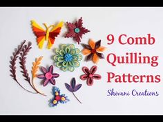 Introduction to Paper Quilling Part Five. Hi . I am doing series of introduction to paper quilling or paper filigree from basic tools to advance techniques. This is the fifth and last video of this series. Paper Quilling Cards, Quilling Comb, Paper Quilling Flowers, Quilled Roses, Paper Quilling Patterns, Paper Quilling Jewelry, Quilled Paper Art, Quilling Paper Craft, Paper Crafts