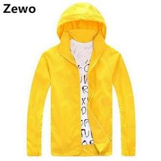 Waterproof hooded windbreak jacket