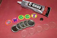 Bottle Cap Co: DIY Bottle Cap Magnets