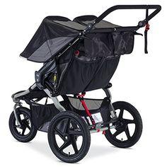Amazon.com : BOB 2016 Revolution FLEX Duallie Jogging Stroller, Black : Baby Double Stroller Jogger, Bob Stroller, Toddler Stroller, Best Double Stroller, Twin Strollers, Best Baby Strollers, Single Stroller, Jogging Stroller, Double Strollers
