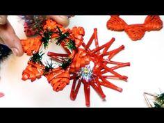 Como tejer los adornos navidenos. Parte 5. - YouTube