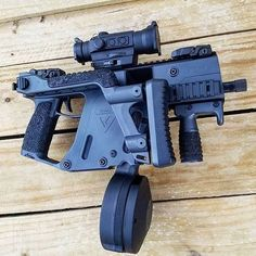 Nice add-ons to a Kriss Vector!