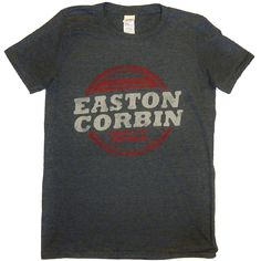 Easton Corbin About To Get Real Charcoal Tee Pijamas Calvin Klein, Easton Corbin, How To Get, T Shirts For Women, Tees, Charcoal, Mens Tops, Fashion, Moda