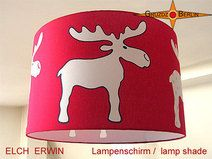 Lampenschirm ELCH ERWIN Ø 45 cm  Kinderlampe
