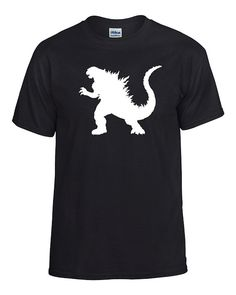 Godzilla 2000 Men's Tshirt by AmysStickerStore on Etsy Godzilla Party, Godzilla Birthday Party, 9th Birthday, Birthday Ideas, Cartoon Meme, Godzilla Tattoo, Police Party, Trending Outfits, Dinosaur Art
