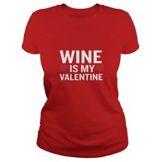 Wine Is My Valentine Funny Beverage Gag Gift - Mens Premium T-Shirt  #gift #ideas #Popular #Everything #Videos #Shop #Animals #pets #Architecture #Art #Cars #motorcycles #Celebrities #DIY #crafts #Design #Education #Entertainment #Food #drink #Gardening #Geek #Hair #beauty #Health #fitness #History #Holidays #events #Home decor #Humor #Illustrations #posters #Kids #parenting #Men #Outdoors #Photography #Products #Quotes #Science #nature #Sports #Tattoos #Technology #Travel #Weddings #Women