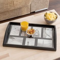 Photo Frame Wooden Serving Tray (7 photos)