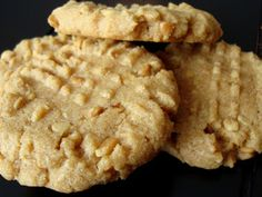 Gluten Free Recipes: Flourless Peanut Butter Cookies