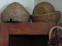 love the bee skep.