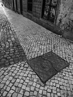 "Rui Palha - End of the street, Portugal From ""Street Photography"" - by Rui Palha"