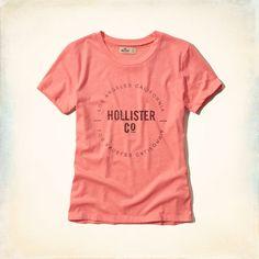 Camiseta Feminina Hollister