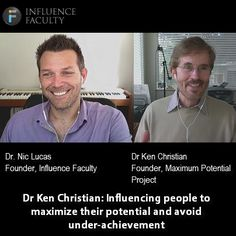 This 45 minute interview provides an insight into Dr Ken Christian, Clinical Psychologist and Author of Your Own Worst Enemy, talks about how to avoid adult underachievement and how to maximize your potential.