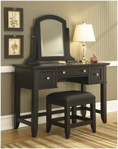 Bedford Vanity Bench Set Decorations Romantic Bedroom pertaining to measurements 795 X 1000 Bedroom Vanity With Bench Set - We all know how important the Black Vanity Desk, Mirrored Vanity Desk, Bedroom Makeup Vanity, Bedroom Vanity Set, Diy Vanity Mirror, Wooden Vanity, Vanity Decor, Classic Dressing Tables, Black Dressing Tables