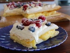 A Food, Good Food, Swedish Recipes, Fika, Healthy Drinks, Cheesecake, Tart, Cake Decorating, Deserts