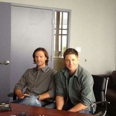 Jared  Padalecki  and  Jensen  Ackles  ♡  x2
