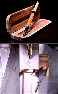 Dryden luxury bamboo fountain pen spring gifts for men Bamboo Fountain, Fountain Pen, Men Gifts, Woodworking, Luxury, Spring, Pens, Guy Presents, Dip Pen