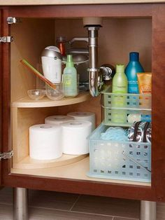 Dollar Store Under Sink Organization This Is Easy And Cheap