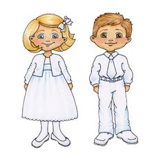 """I love these cute kid drawings!  I am making Resurrection Puppets for Easter with these kids as the spirit kids!  I have colored their clothes to sew on the matching """"body"""" puppets.  So Cute!  Thanks Susan!"""