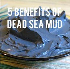 5 Benefits of Dead Sea Mud - Skin disorders, hair loss, facial care, cellulite, arthritis Coconut Oil Cellulite, Cellulite Scrub, Cellulite Remedies, Homemade Coconut Oil, Coconut Oil Uses, Dead Sea Mud, Dead Sea Minerals, Diy Hair Mask