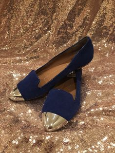 a5fb66ea39f Dolce Vita shoes size 6 Blue Suede Flats  fashion  clothing  shoes   accessories