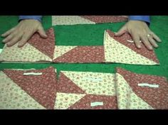 Suzanne McNeill demonstrates variations of the sew-easy 10 Minute Block Quilts.
