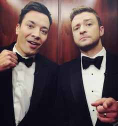 Jimmy Fallon and JustinTimberlake