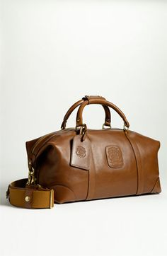 Ghurka 'Cavalier' Travel Duffel available at #Nordstrom