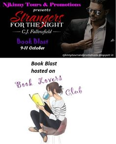 "#BookBlast #StrangersForTheNight by @CJFallowfield on @AnkevanZweel's blog + #Giveaway $10 GC, 1 EBk of ""No Leaves, No Strings (The Austin Series #1)""..Go checkout the book and enter to win!  http://bookslovesclub.blogspot.in/2014/10/book-blast-stranger-for-night-by-cj.html  #BlogTour #BookBlitz #AdultRomance #EroticRomance #Excerpt #Teasers"