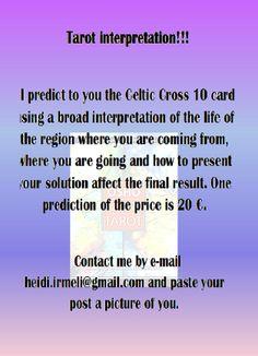 Haluan ansaita jonkun verran rahaa Tarot- ennustuksilla. I want to earn some money Tarot prediction.  #tarotkortit #ennustaminen #ennustus #TarotCards #divination #prophecy
