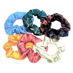 I haven't used one in years because they're so out of style (you know, because I'm a trend slave and all. Ha!), but I miss scrunchies. They really worked fabulously.