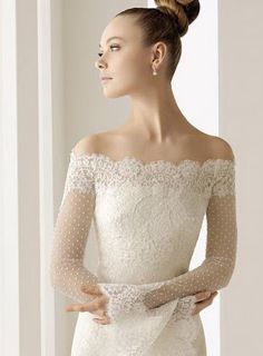 Universo Humano: Vestido de Noiva com Bolero ou Renda.
