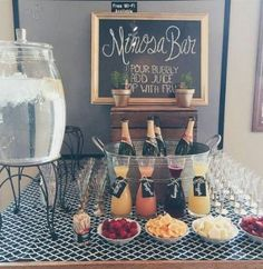 Breakfast Birthday Mimosa Bar 51 New ideas - Breakfast Birthday Mimosa Bar 51 New ideas Best Picture For birthday brunch i - Birthday Breakfast, Birthday Brunch, 30th Birthday, Brunch Decor, Brunch Bar Ideas, Breakfast Ideas, Breakfast Parties, Breakfast Bar Food, Champagne Bar