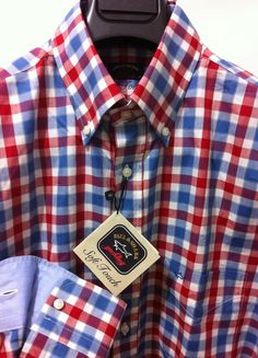 NWT$285+tax  Paul & Shark Yachting Italian Chic&beautiful casual shirt,L /42US #PaulShark #ButtonFront