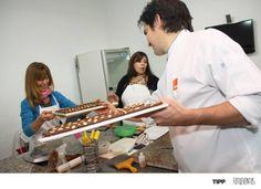 Curso de Chocolateria Inicial . TIPP Rosario con Lucas Trecco. Junio y Julio 2014