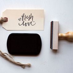 Fresh Love Stamp now featured on Fab.