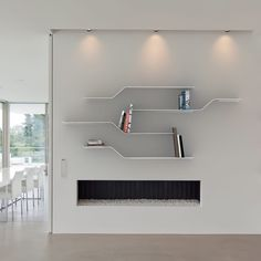 online furniture  store  ·Wall-mounted shelf / original design / aluminum / lacquered aluminum - VIDAME CREATION archiexpo.es