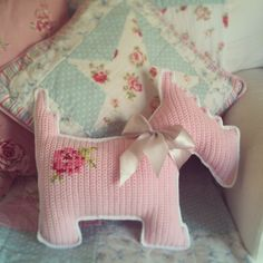 Scottie Dog Cushions pattern by Annaboos House